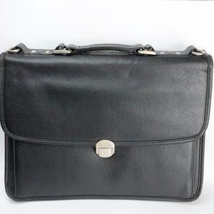 McKlein Black Laptop/Briefcase